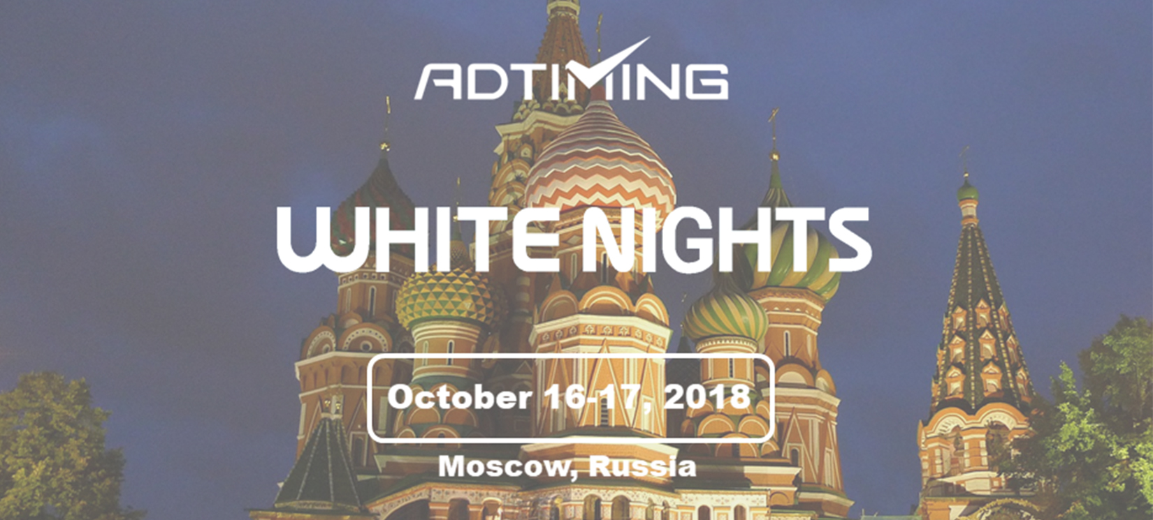 White Night Conference Banner